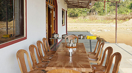 guest house in dandeli